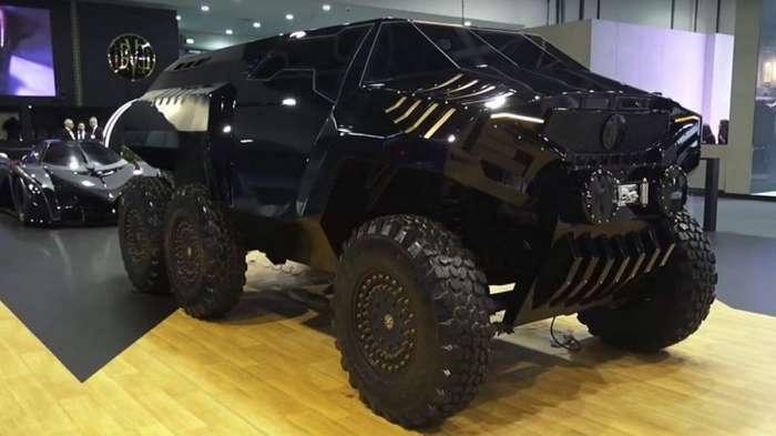 Арабский гиперкар и шестиколесный внедорожник-13 фото + 1 видео-