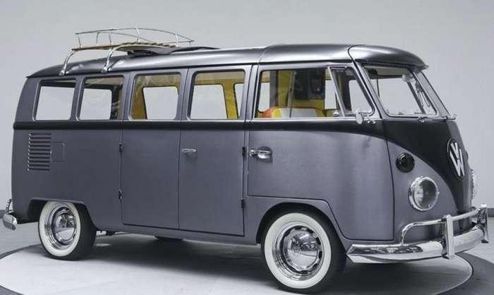 Хиппибас Volkswagen превратили в машину из -Назад в будущее--18 фото-