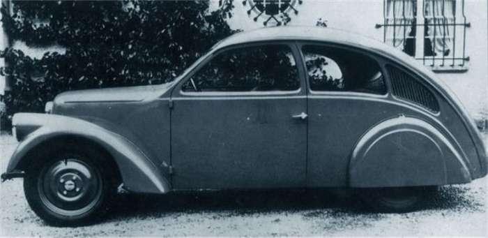 Porsche Type 12 - Первые поползновения к -Жуку--6 фото-
