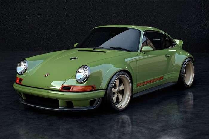 Williams и Singer занимаются созданием уникального Porsche из 90-х-13 фото-