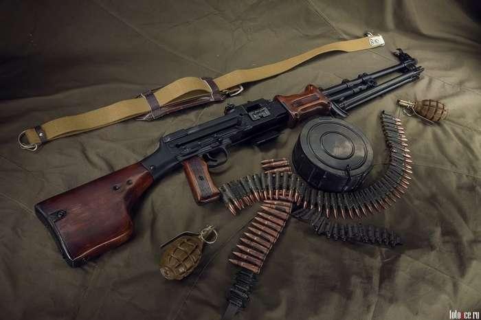 Пулемет РПД -ГРАУ 56-Р-327-