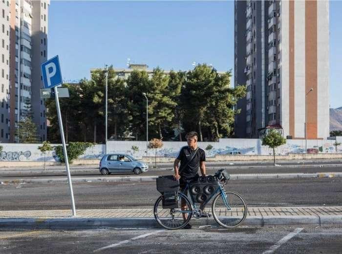 Подростки из Палермо прокачивают свои велосипеды-11 фото + 1 видео-