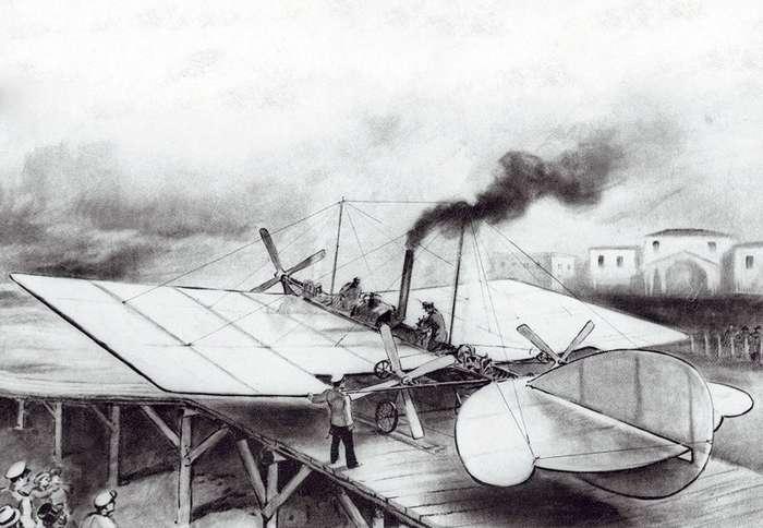 Кто создал первый самолёт?-11 фото + 1 видео-