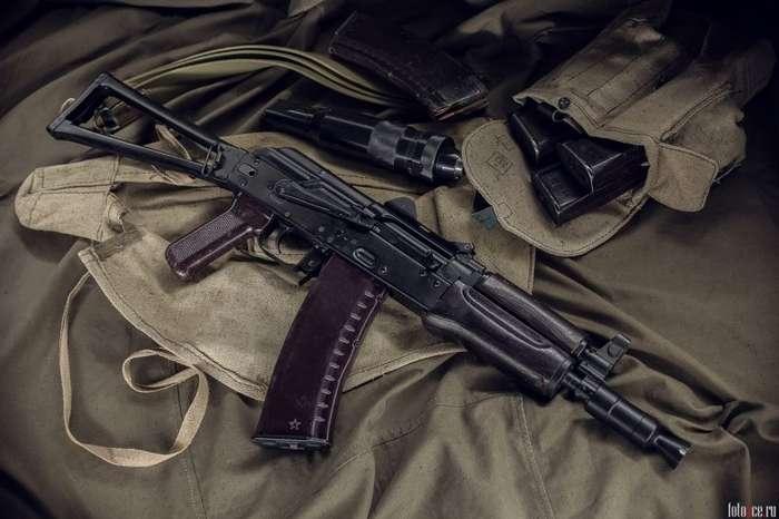Автомат Калашникова -АКС-74У--9 фото-