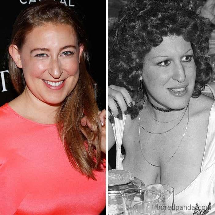 Как две капли воды: знаменитости и их дети в том же возрасте-36 фото-
