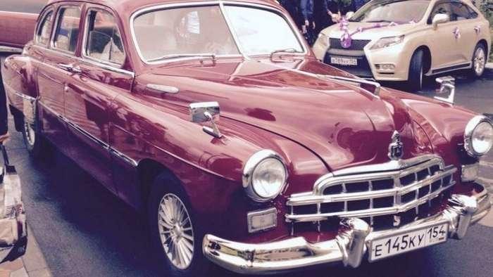 ЗИМ - реставрация первой представительской модели Горьковского автозавода-68 фото-