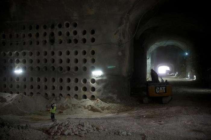 Подземное кладбище под Иерусалимом-8 фото-