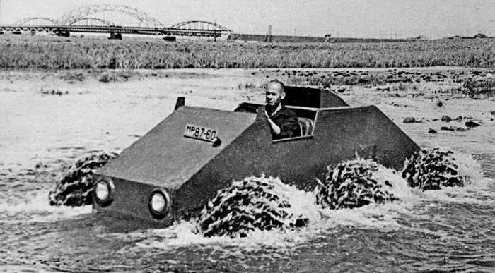 Не прошедшие испытаний советские экспериментальные вездеходы ЗИЛ, КрАЗ и НАМИ-36 фото-