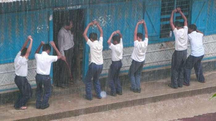 Самые жестокие наказания в школах-19 фото + 4 видео-