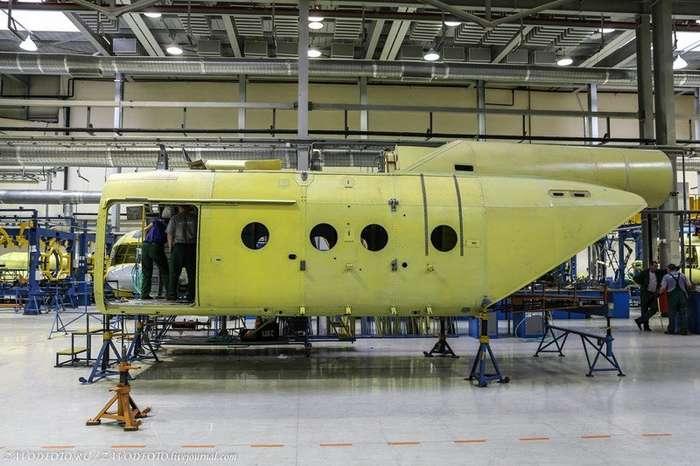 Как делают лучшие в мире вертолёты-62 фото-