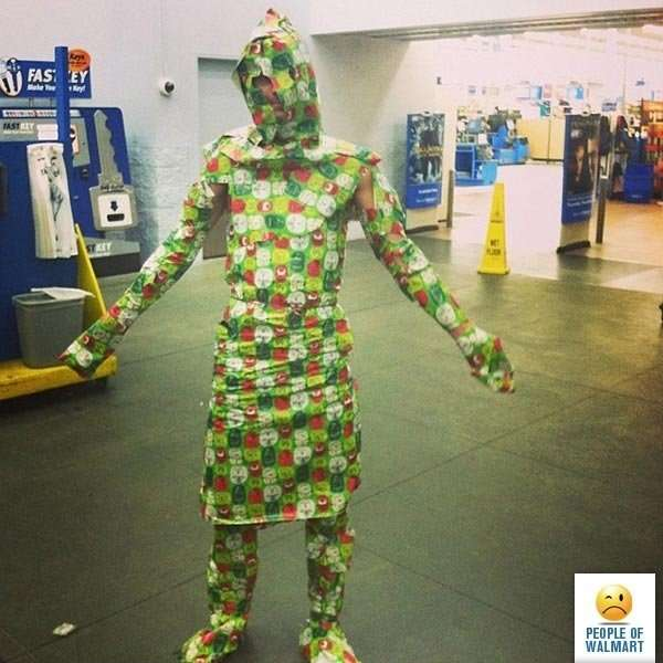 Чокнутые покупатели американских супермаркетов-21 фото-