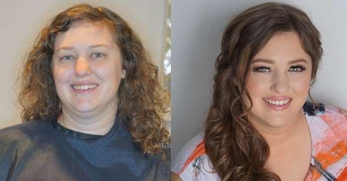 16 преображений после макияжа, которым позавидуют даже пластические хирурги-16 фото-