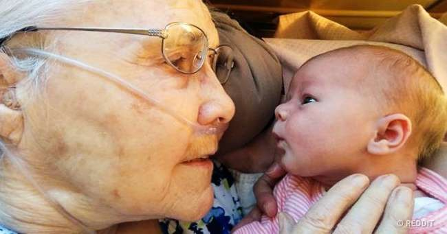 Родители сняли реакцию бабушек идедушек отпервой встречи свнуками. Даже дыхание перехватывает