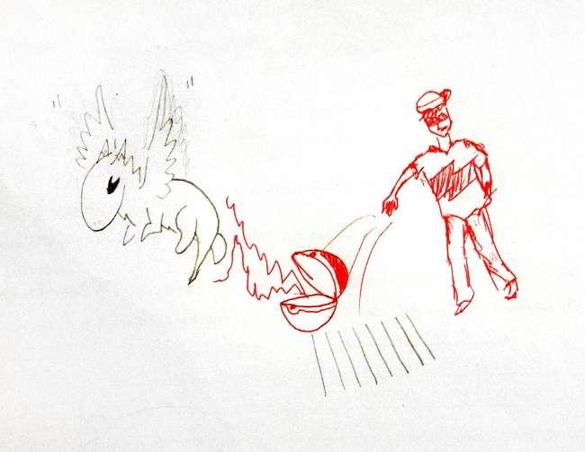Обычно учителей раздражают каракули учеников, номынашли того, кто создает изних целые сюжеты