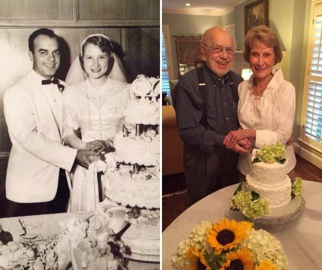 Пользователи делятся крутыми снимками родителей вмолодости исейчас, иэто лучшее доказательство вечной любви