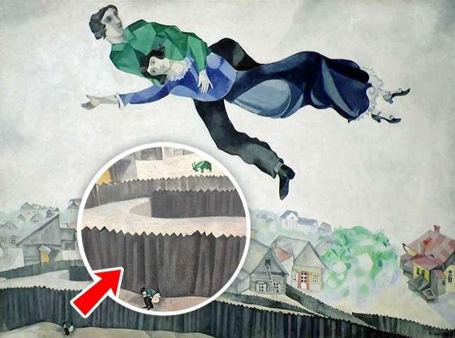 8любопытных деталей, которые художники спрятали всвоих картинах