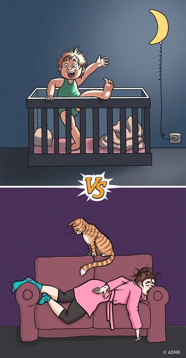 12иллюстраций отом, что дети иродители видят этот мир совершенно по-разному