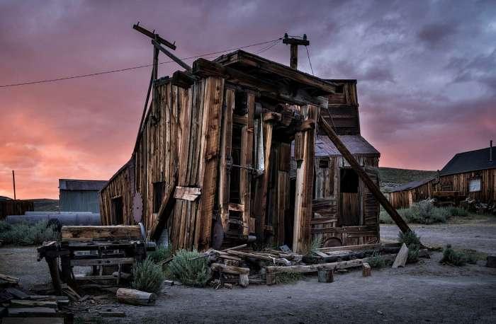 Боди &8211; город-призрак в США
