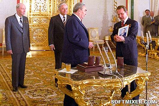История творчества Брежнева