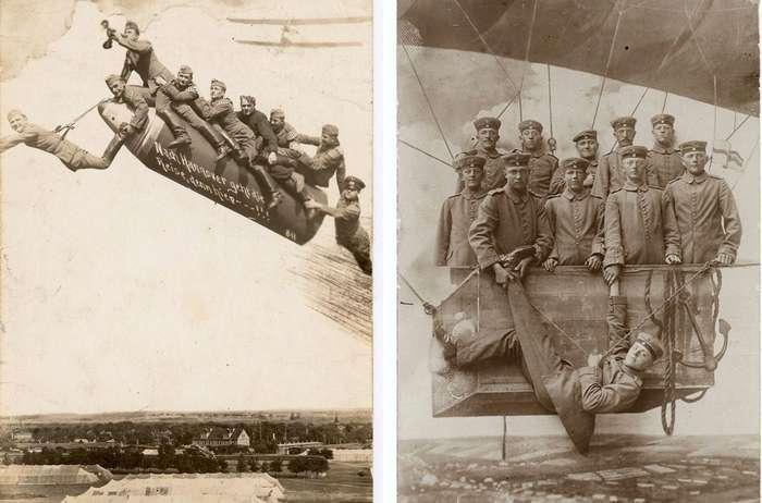 Ретро-фотографии -дембелей- первой половины XX века
