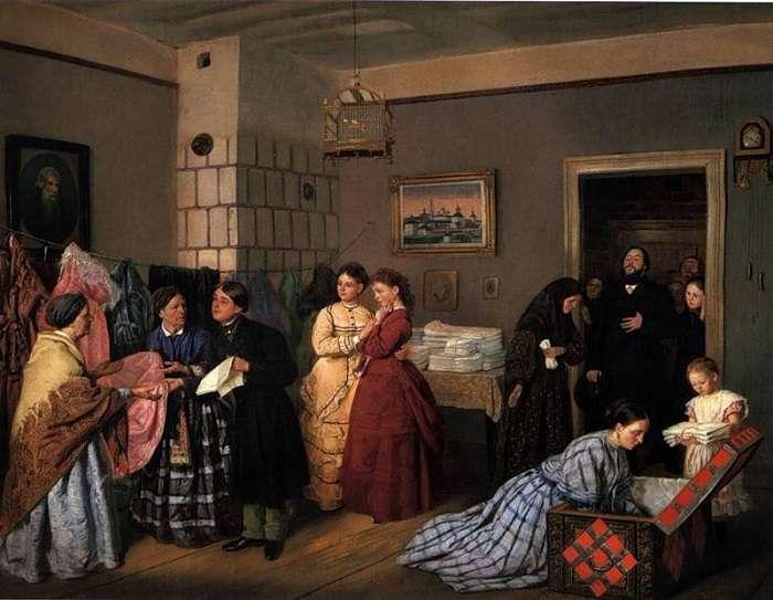 Свадебные традиции: приданое невесты в старину
