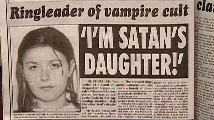 -Дьявол заставил меня это сделать!- или люди, которые обвинили в своих преступлениях Сатану