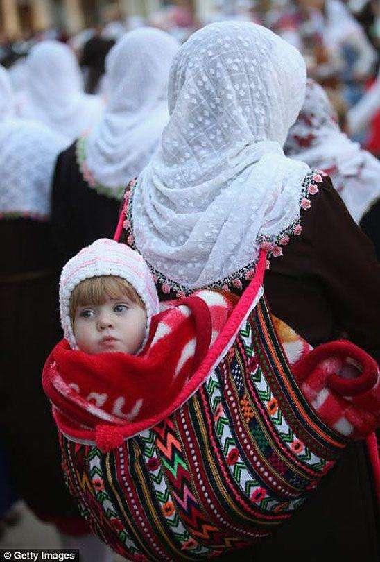 На свадьбе у мусульманских горцев в Болгарии