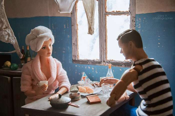 Как жили бы в СССР Кен и Барби