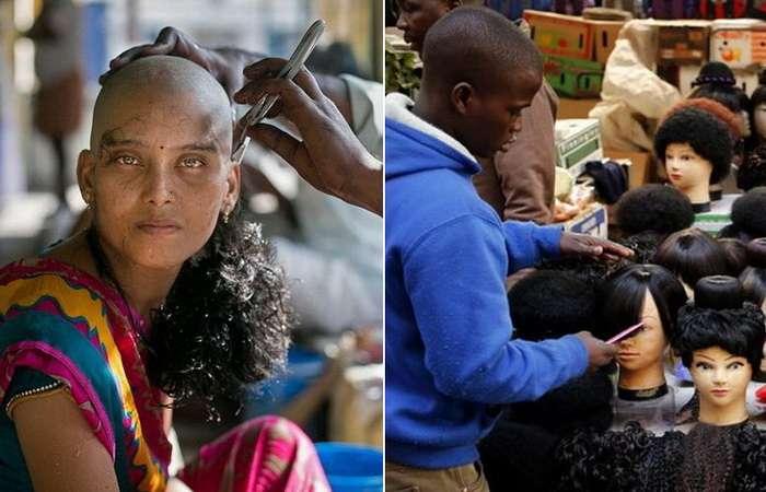 Продажа волос &8211; выгодный бизнес, которым промышляют многие храмы в Индии