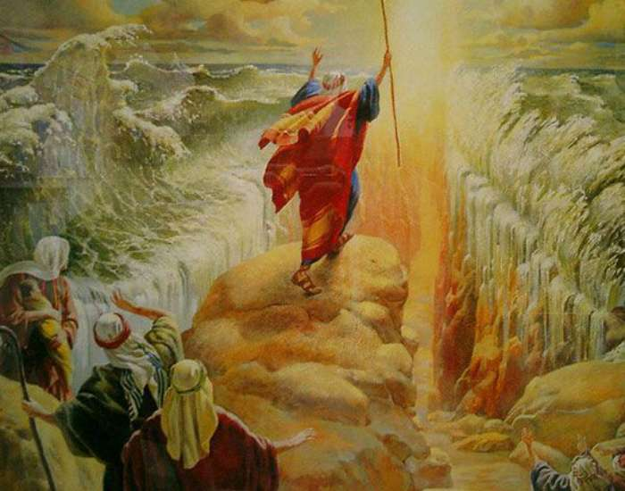 Библейские чудеса с рациональным объяснением