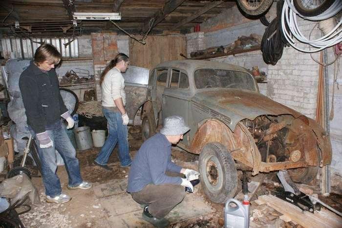 Как отреставрировали ретроавтомобиль «Москвич-401&8243;
