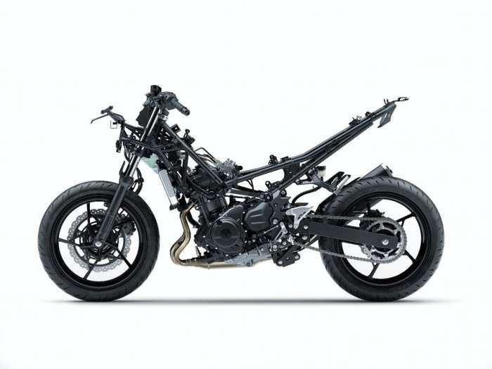 Малыш Kawasaki Ninja получил супермощный двигатель для своего класса