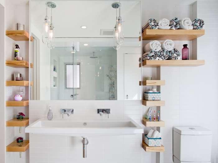 Лайфхаки для ванной: 20 идей для организации и хранения банных принадлежностей