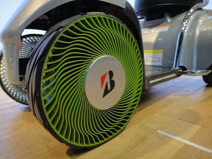Инновационное колесо, которое нельзя пробить