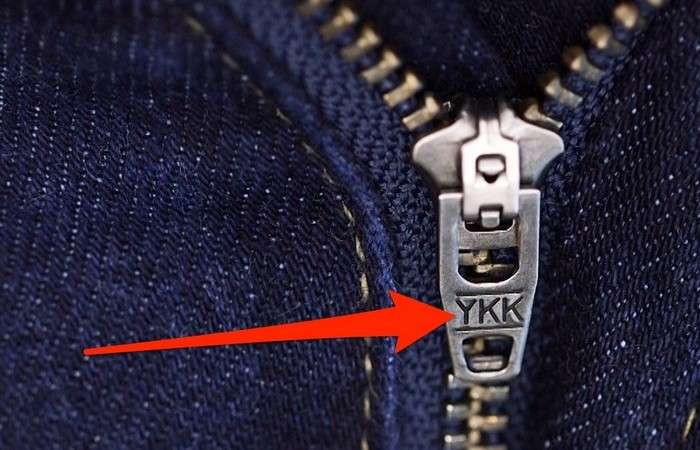Секреты производителя: Что значат буквы -YKK- на застёжках-молниях?