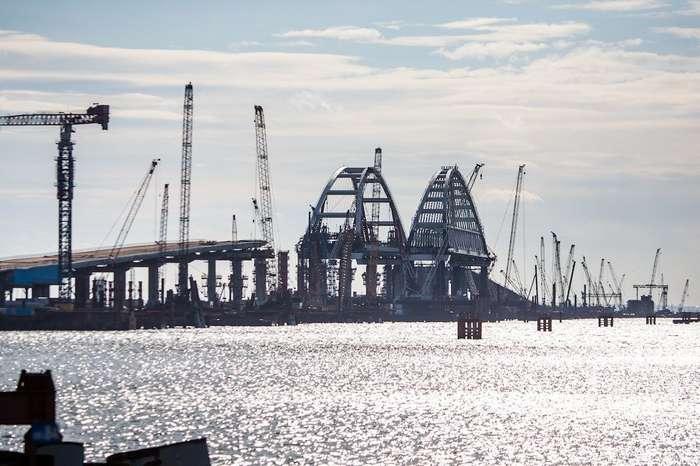 Стройка века, или как строят Крымский мост. Фоторепортаж