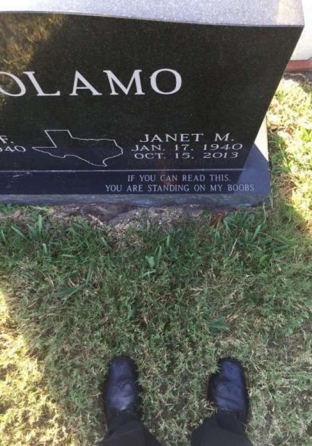 Остаться в истории благодаря оригинальной подписи для надгробия