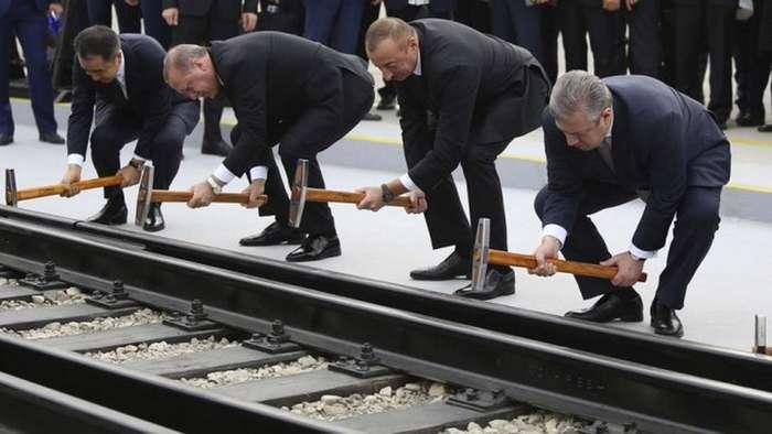 -Новый шелковый путь-: мимо Москвы в Лондон