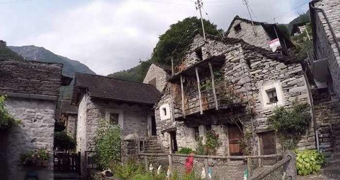 Швейцарская деревня и денежные гранты за новых жителей
