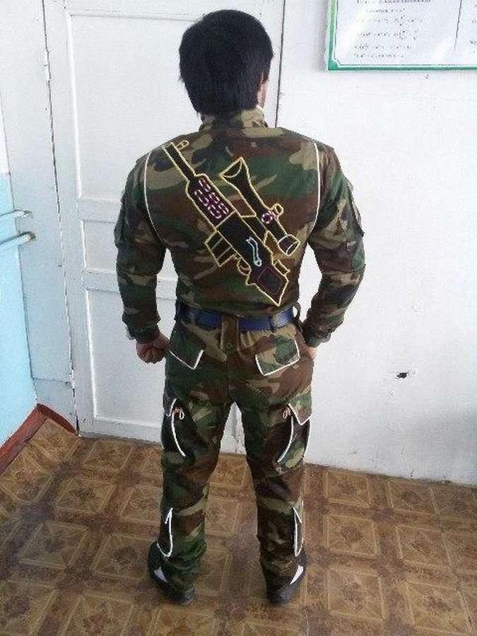 Настоящий генерал швейных войск &8212; суровый таджикский дембель