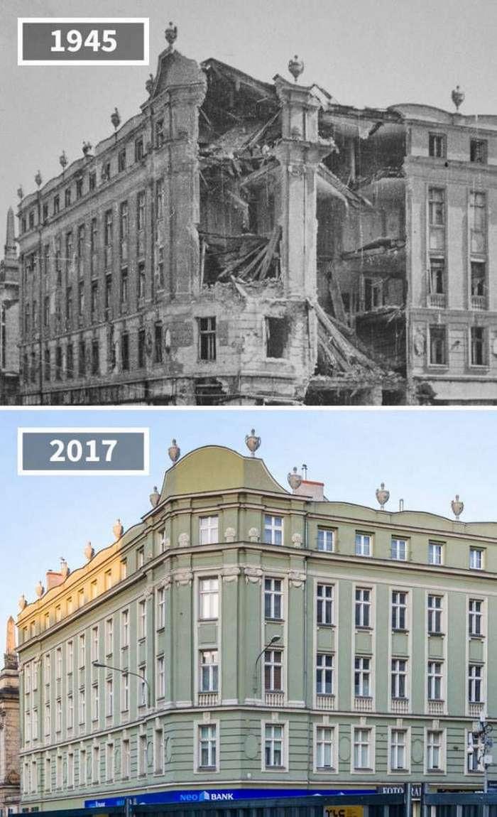 Стоп-кадры: как изменились со временем разные места (30 фото)