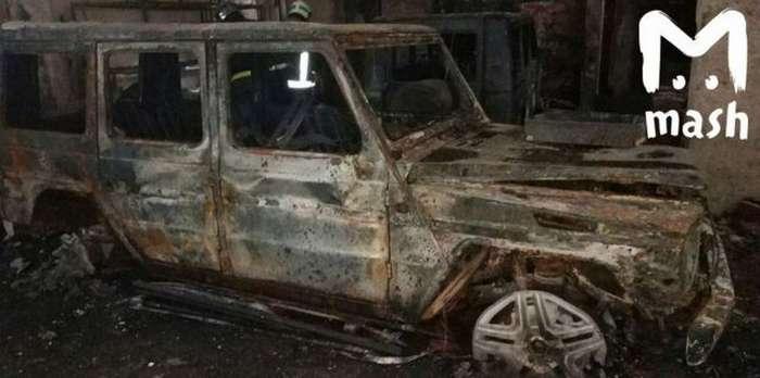 В московском автосервисе сгорели пять &171;геликов&187;