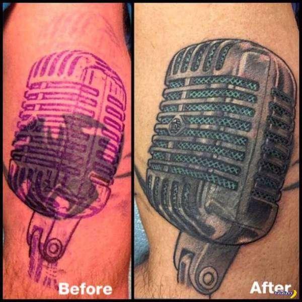 Татуировки на зависть - 93 - Перебитое
