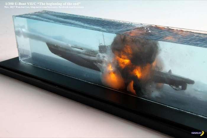 Гибель подводной лодки