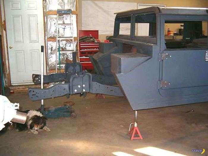 Как из пикапа Ford сделать Hummer H1
