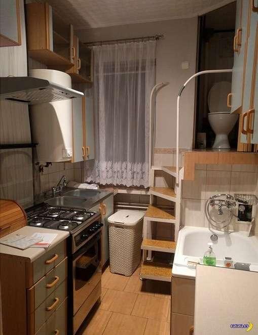 Гениальное решение для небольшой квартиры