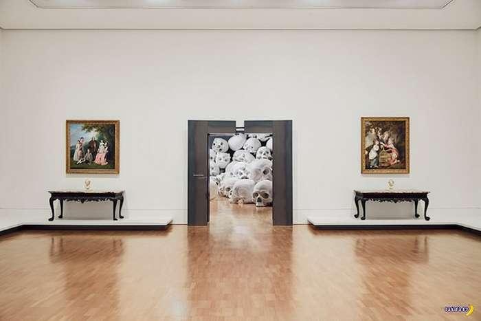 Современное искусство принимает причудливые формы