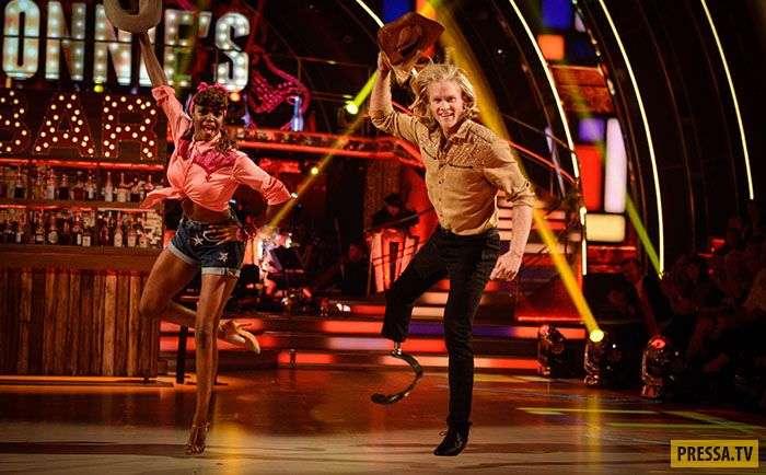 Невозможного нет! Паралимпиец с одной ногой принял участие в танцевальном шоу (13 фото + 2 видео)