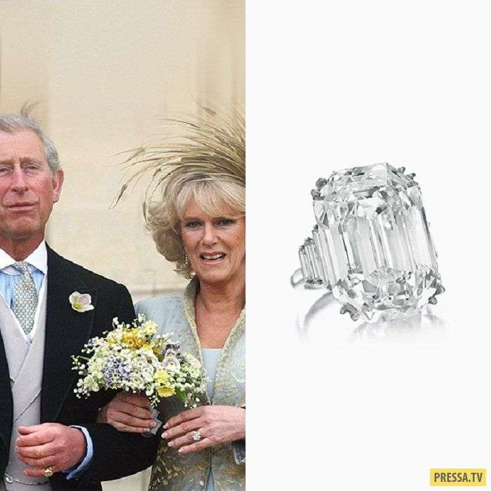 Какие кольца дарят на помолвках в королевских семьях (32 фото)