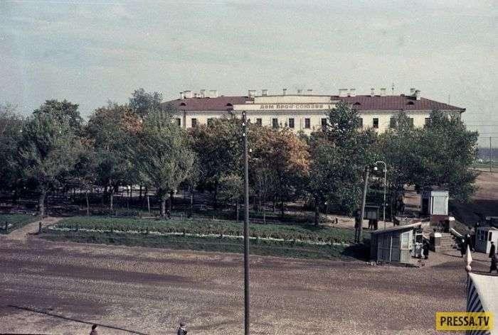 СССР, ностальгия: Минск в 50-е годы прошлого века (19 фото)